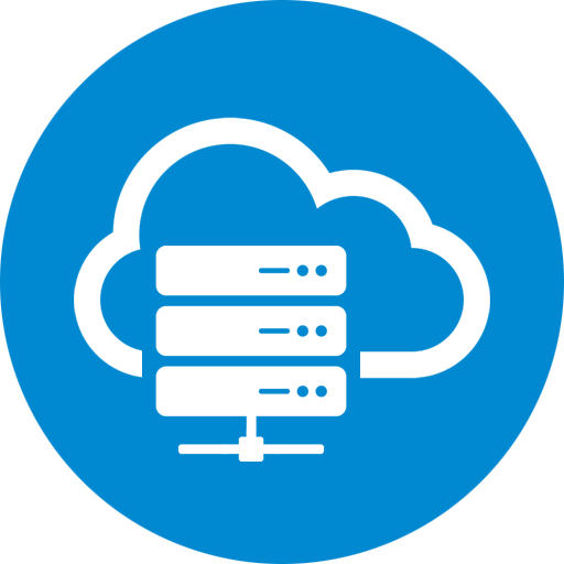 icon for cloud hosting